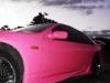 Hot Pink Nissan 300ZX