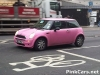 Pink Mini Spotted in London...