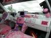 pink-mustang-interior