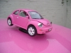 pink-vw-beetle-herbie-miniture-and-real